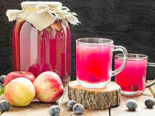 как приготовить компот из яблок рецепты 6